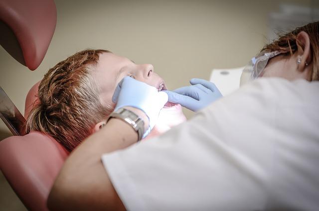zubař, vyšetření