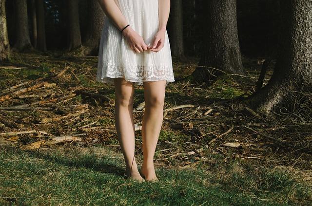 bosá v lese