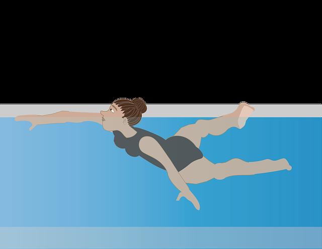postavička plavkyně