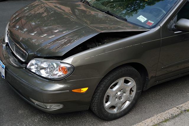 nabořené auto